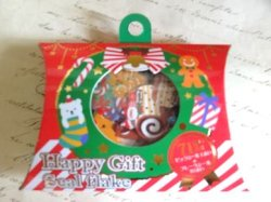 画像1: ハッピーギフトシール クリスマスR