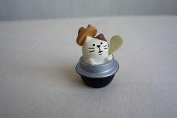 画像1: デコレコンコンブル 釜めし猫